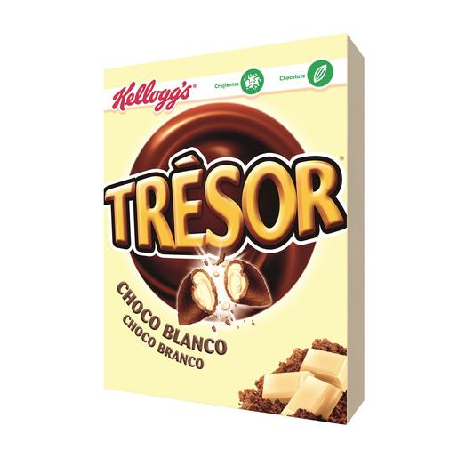 KELLOGG`S cereales trésor chocolate blanco caja 400 gr
