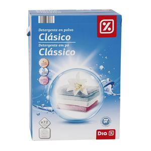 DIA detergente máquina polvo maleta 72 cacitos
