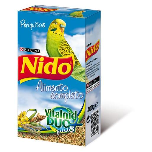 NIDO alimento completo vitalnid duo nº 3 para periquitos caja 400 gr