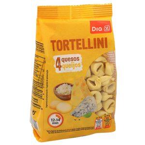 DIA tortellini 4 quesos paquete 500 gr