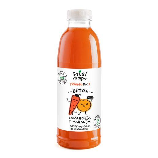 FRUTICAMPO zumo de zanahoria y naranja botella 750 ml