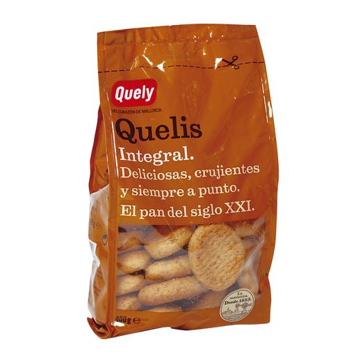 QUELY pan tostado quelis integral paquete 400 gr