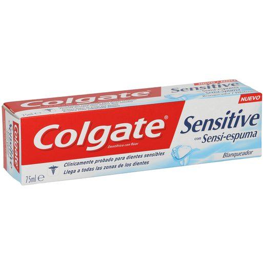 COLGATE pasta dentífrica sensitive blanqueador tubo 75 ml