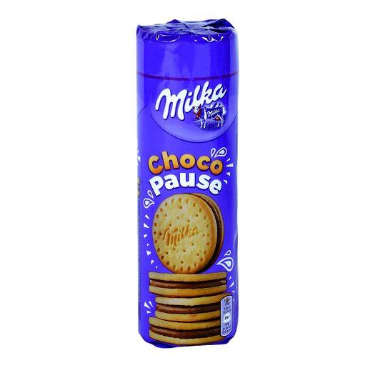 MILKA galletas choco pause paquete 260 gr