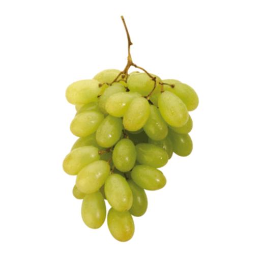 Uva blanca sin semilla bandeja 500 gr