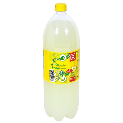 DIA limón con gas botella 2 lt