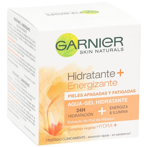 GARNIER hydra adapt gel crema hidratante para pieles apagadas tarro 50 ml