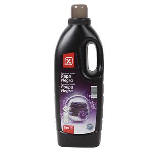 DIA detergente máquina líquido ropa negra botella 2 lt