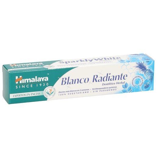 HIMALAYA pasta dentífrica blanco radiante tubo 75 ml