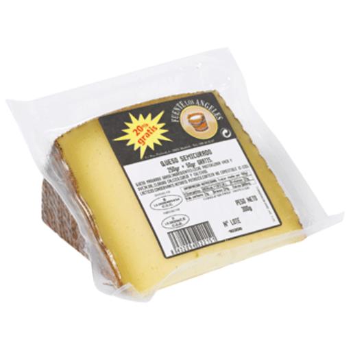 FUENTE LOS ANGELES queso semicurado cuña 250 g + 20%