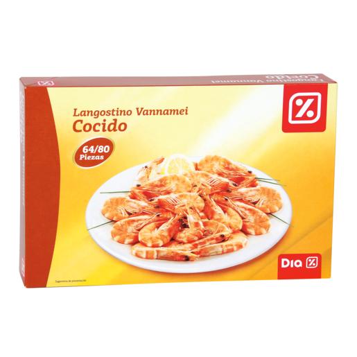 DIA langostino cocido 64/80 800 GR
