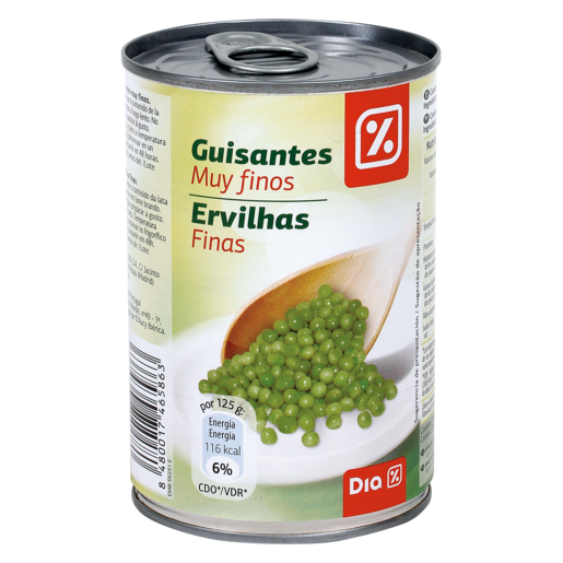 DIA guisante muy fino lata 250 gr