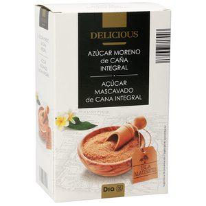 DIA DELICIOUS azúcar moreno caja 1 Kg