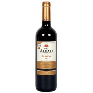 VIÑA ALBALI vino tinto reserva DO Valdepeñas botella 75 cl
