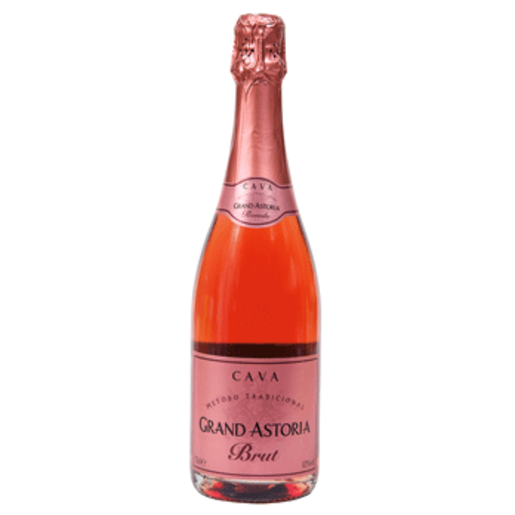 GRAND ASTORIA cava brut rose botella 75 cl