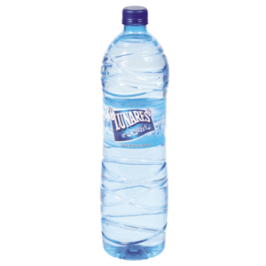 LUNARES agua mineral natural botella 1.5 lt