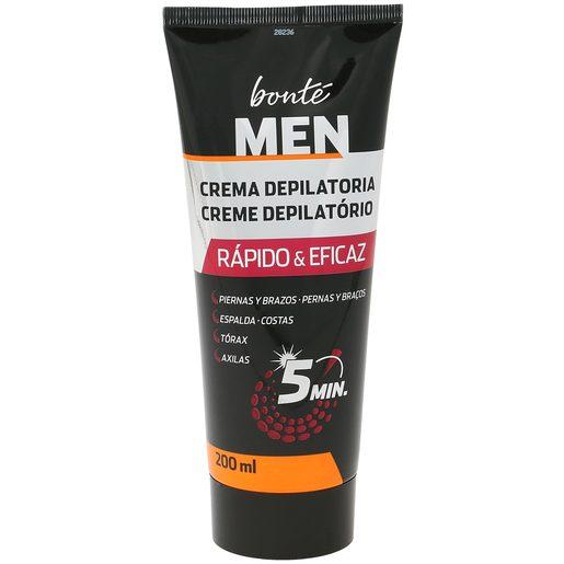 BONTE crema depilatoria para hombre tubo 200 ml