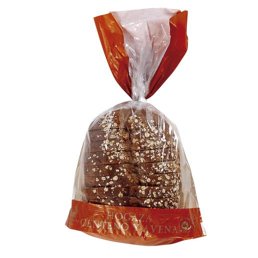 Hogaza pan de molde centeno y avena bolsa 500 gr