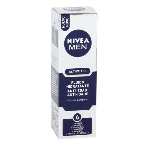 NIVEA Men active age fluido hidratante antiedad caja 50 ml
