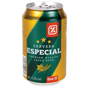 DIA cerveza especial lata 33 cl