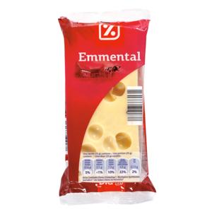 DIA queso emmental pieza 250 gr