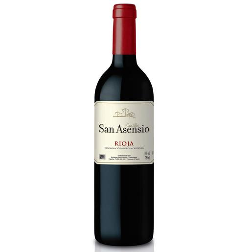 SAN ASENSIO vino tinto DO Rioja botella 75 cl
