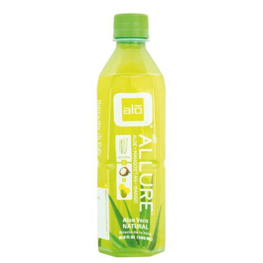 ALLURE bebida de aloe vera con mango botella 50 cl