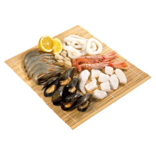 Arreglo para paella marisco bandeja 800 gr