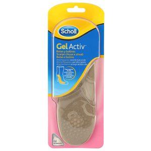 SCHOLL Gel activ plantillas para botas y botines talla 35 - 40.5