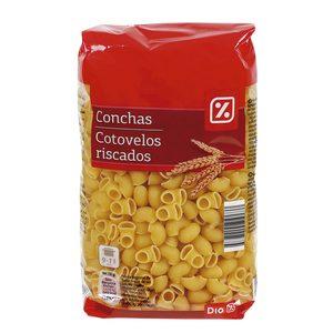 DIA pasta de conchas paquete 500 gr