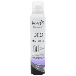 BONTE everyday desodorante invisible spray 200 ml