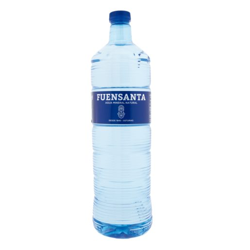 FUENSANTA agua mineral natural botella 1.5 l
