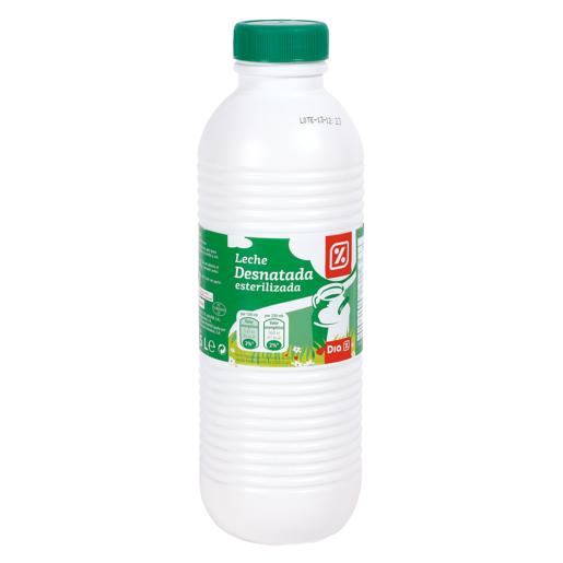 DIA leche desnatada botella 1.5 lt