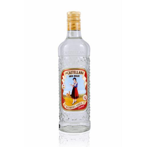 LA CASTELLANA licor de anís dulce botella 70 cl