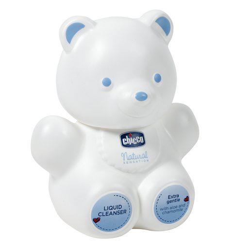CHICCO Natural sensation gel de baño oso bote 300 ml