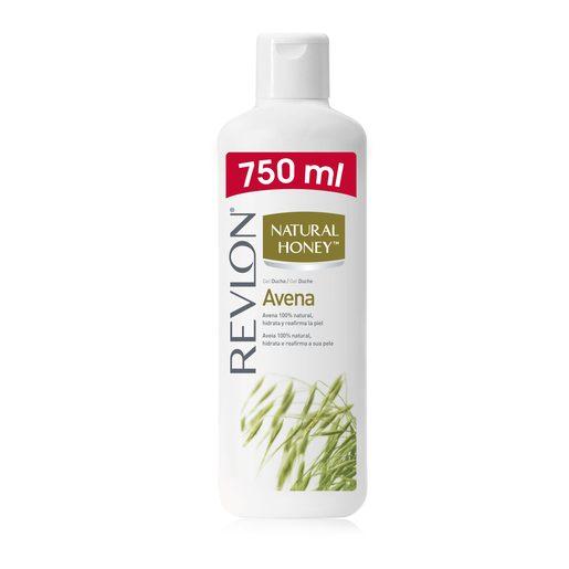 NATURAL HONEY gel de ducha avena bote 750 ml