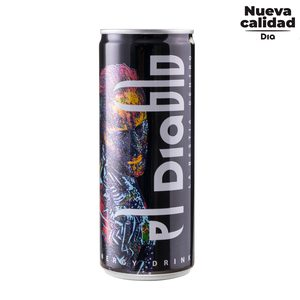 DIA EL DIABLO bebida energética lata 25 cl