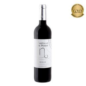 CASTILLO DE HARO vino tinto crianza DO Rioja botella 75 cl