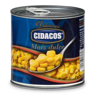 CIDACOS maíz dulce lata 285 gr
