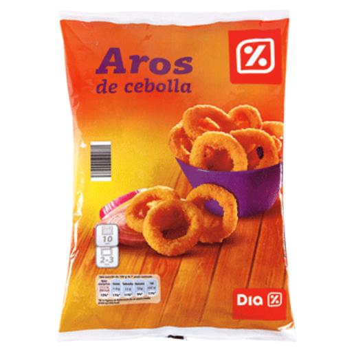DIA aros de cebolla bolsa 400 gr