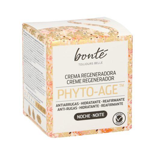 BONTE crema facial de noche phyto age regeneradora antiarrugas tarro 50 ml