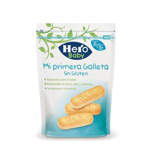 HERO Baby mi primera galleta sin gluten bolsa 180 gr