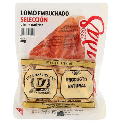 BOADAS lomo embuchado selección en lonchas sobre 80 gr