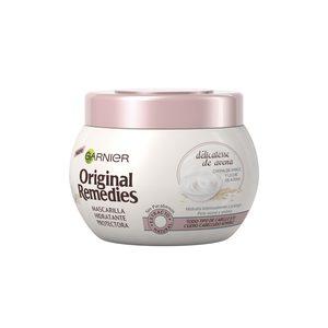 ORIGINAL REMEDIES mascarilla délicatesse todo tipo de cabello tarro 300 ml