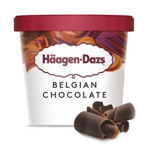 HAAGEN DAZS helado chocolate belga tarrina 81 gr