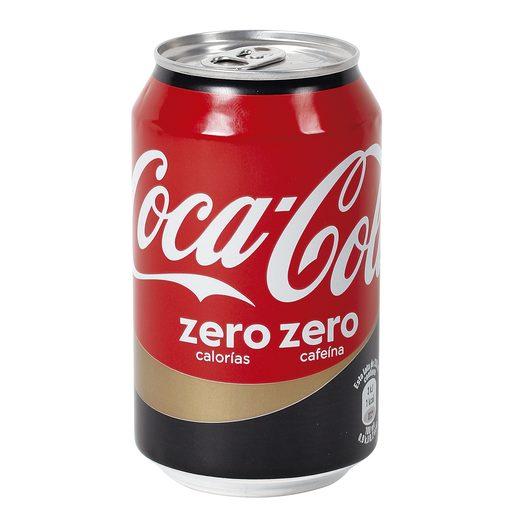 COCA COLA zero sin cafeina lata 33 cl