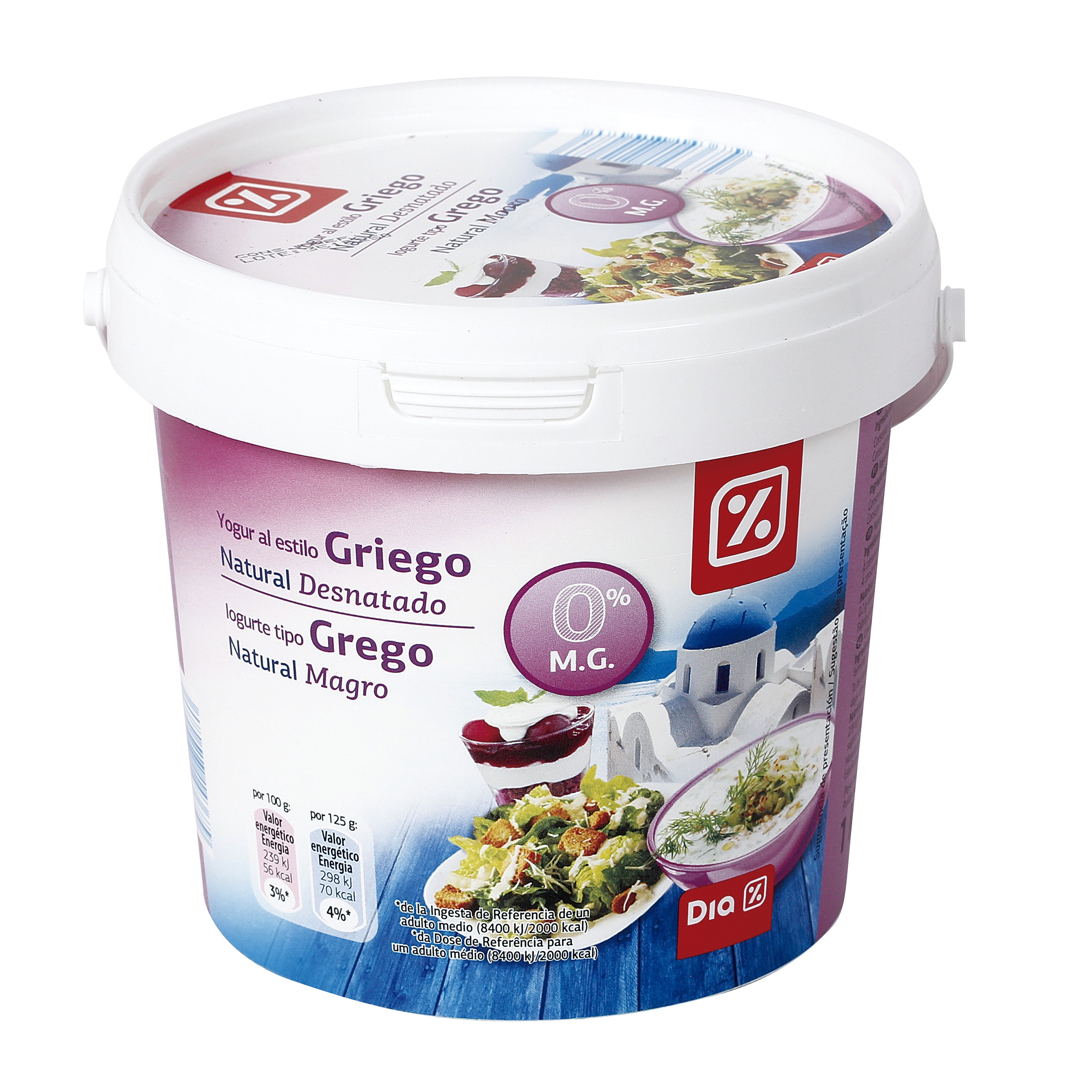 Yogurt griego