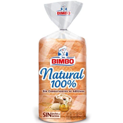 BIMBO pan de molde natural 100% bolsa 460 gr