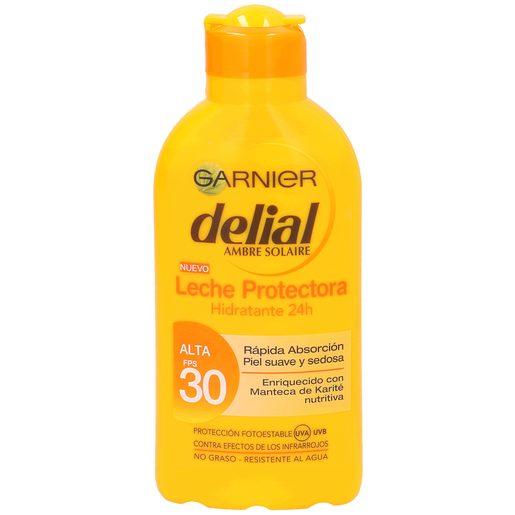 DELIAL leche protectora solar hidratante spf 30 bote 200 ml