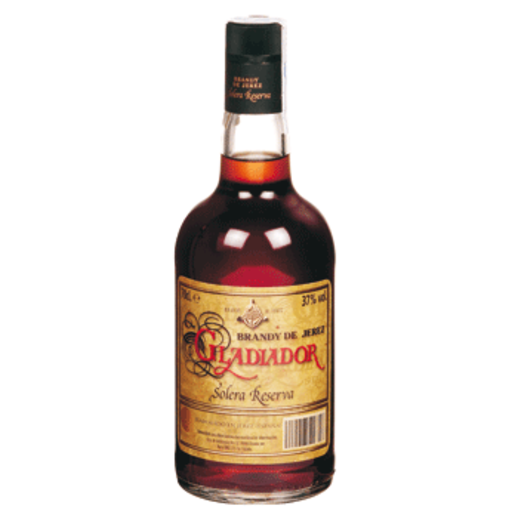 GLADIADOR brandy de jerez solera reserva botella 70 cl